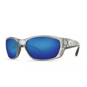 Costa Del Mar Fisch Polarized Sunglasses  Silver